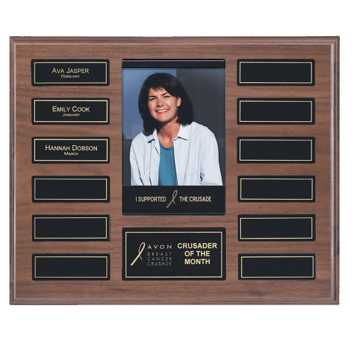 Recognition Pocket Photo Plaque