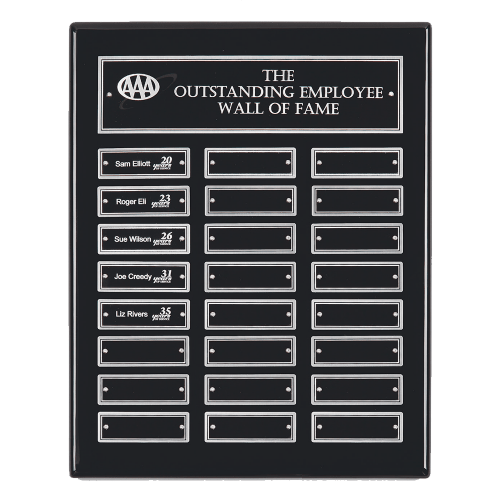 High Gloss Perpetual Plaque