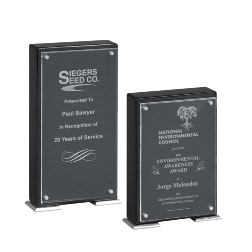 Carbon Fiber Stand-Up Award