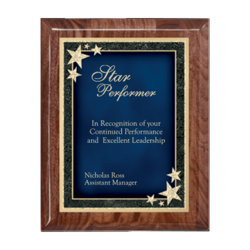 Starburst Plaque - Multiple Sizes and Colors 2