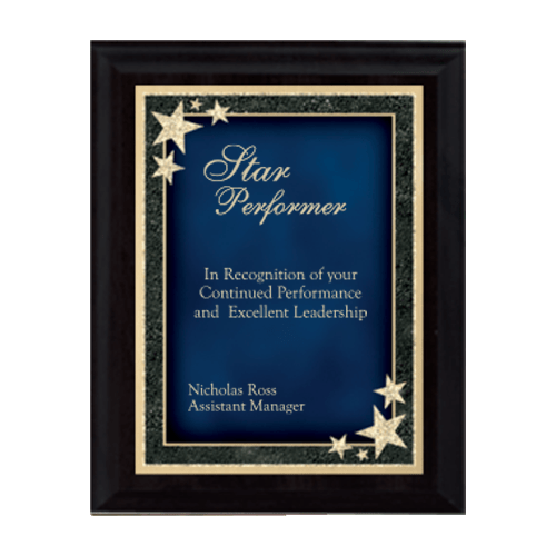 Starburst Plaque - Multiple Sizes and Colors 1