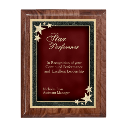 Starburst Plaque - Multiple Sizes and Colors 4