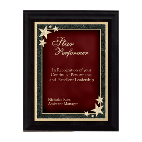 Starburst Plaque - Multiple Sizes and Colors 3