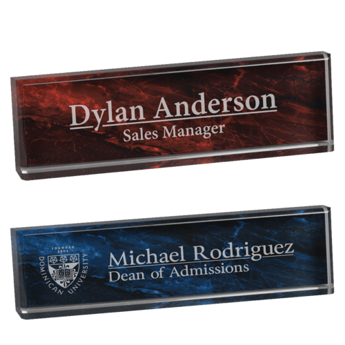 engraved name bar