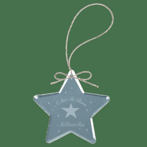 Crystal Star Ornament 1