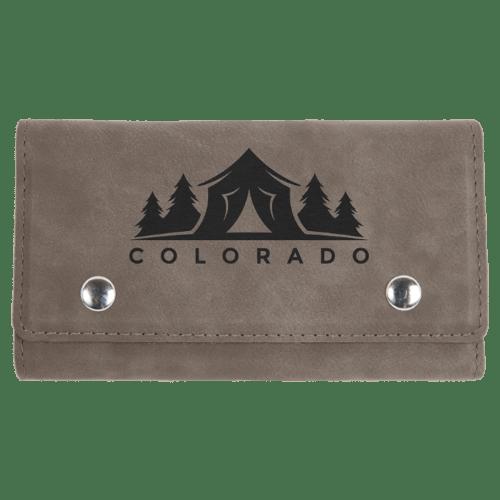Leatherette Card & Dice Sets - 10 Colors 4