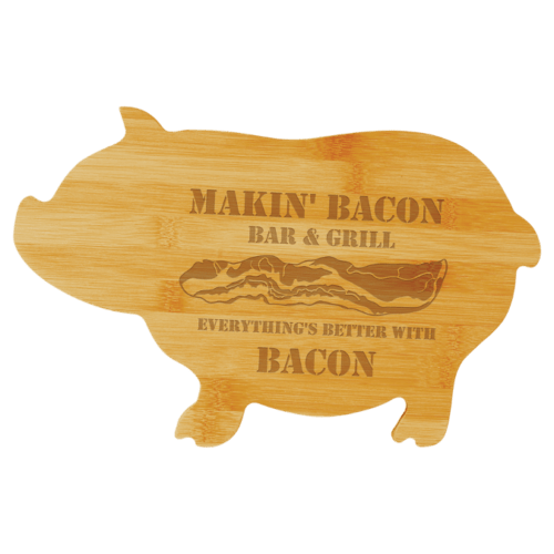 Bamboo Pig Cutting Board