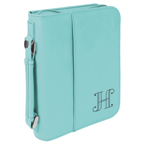 Leatherette Book/Bible Cover with Handle & Zipper - Multiple Colors & Sizes 8