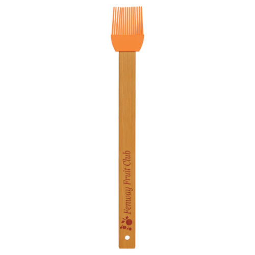 Silicone Baster Brush with Bamboo Handle - 6 Colors 4