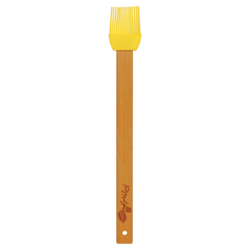Silicone Baster Brush with Bamboo Handle - 6 Colors 6