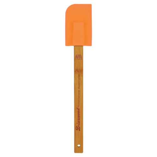 Silicone Spatula with Bamboo Handle - 6 Colors 5