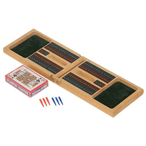 Cribbage Set with Deck of Cards & Pins 2