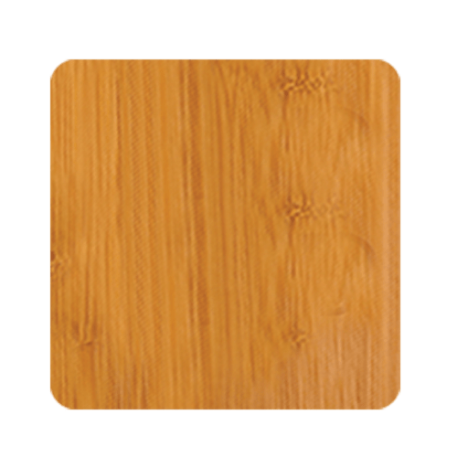 Square Bamboo 6-Coaster Set with Holder 2