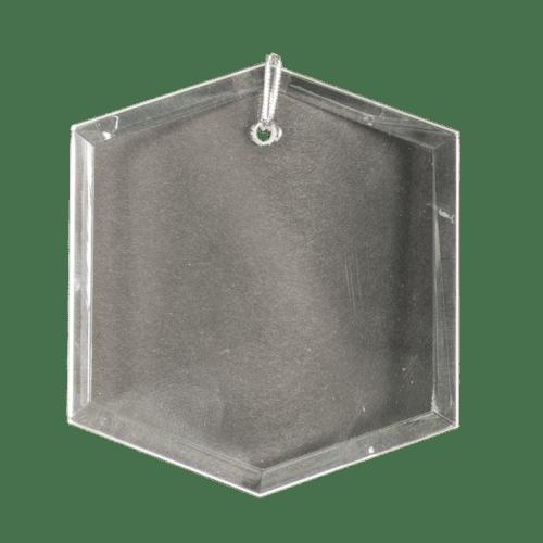 Hexagon Crystal Ornament 1