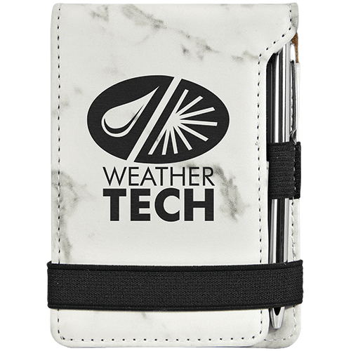 Leatherette Mini Pad with Pen - 15 Colors 14