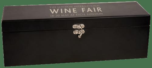 Matte Black Wine Presentation Box with 4 Tools 1