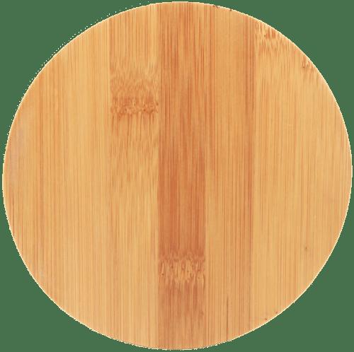 Round Bamboo 4-Piece Wine Tool Set 2