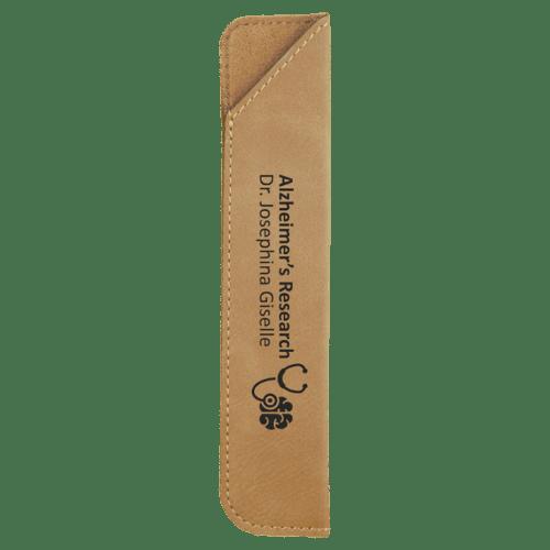 Leatherette Pen Sleeve - 11 Colors 1