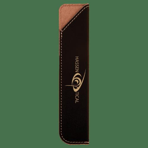 Leatherette Pen Sleeve - 11 Colors 3