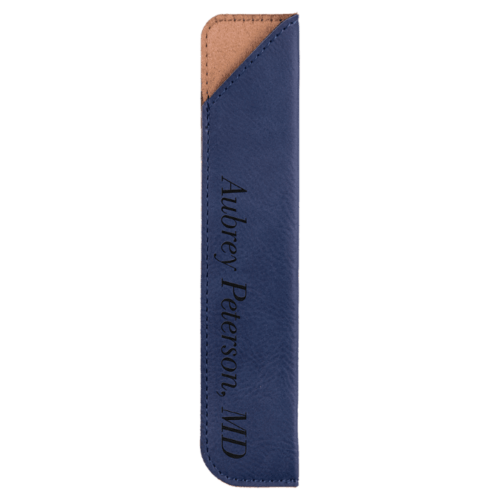 Leatherette Pen Sleeve - 11 Colors 6
