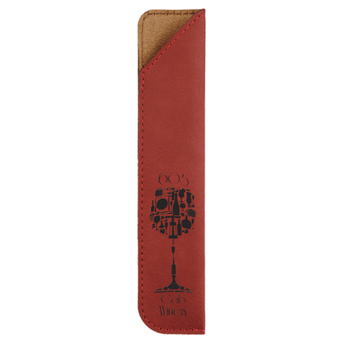 Leatherette Pen Sleeve - 11 Colors 7