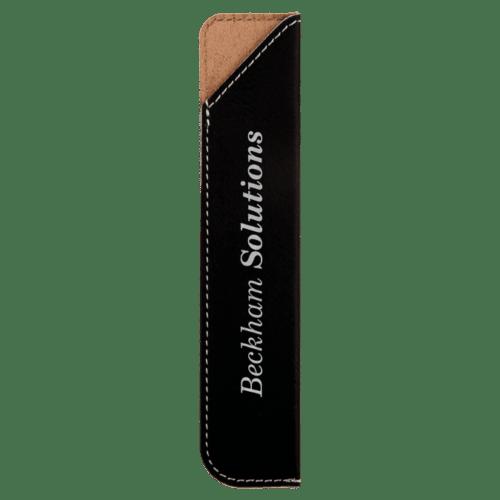 Leatherette Pen Sleeve - 11 Colors 8