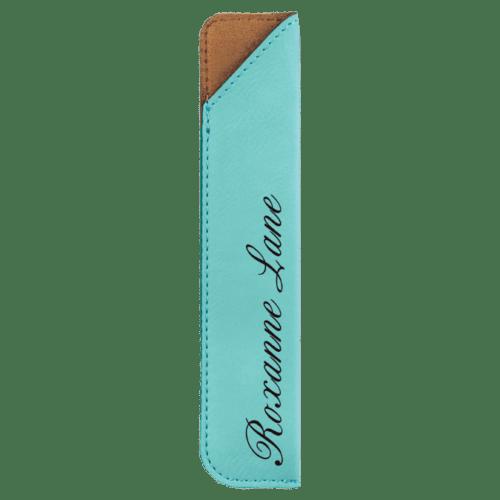Leatherette Pen Sleeve - 11 Colors 10
