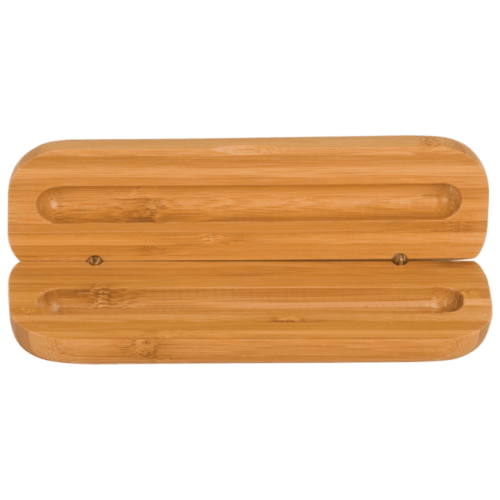Bamboo Single Pen Case (Personalized)