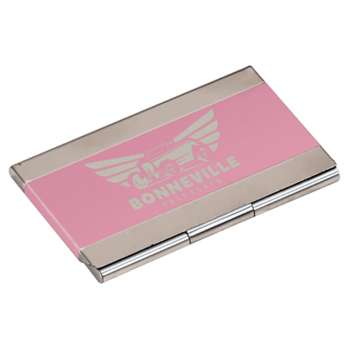 Personalized Metal Business Card Holder 3