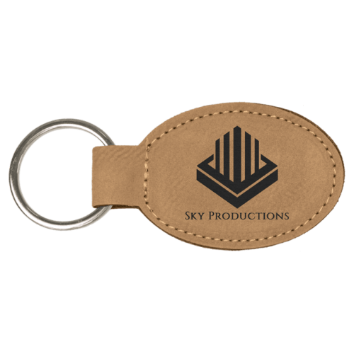 Personalized Oval Keychain - 15 Colors 1