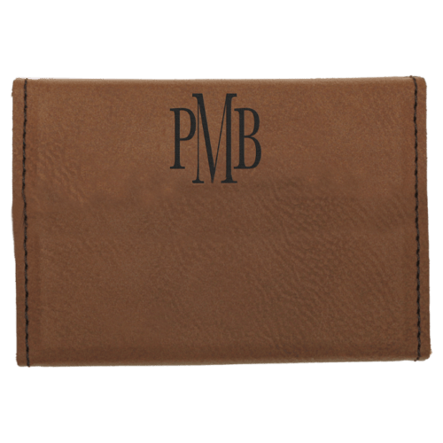 Leatherette Hard Card Case with Magnetic Closure - 11 Colors 4