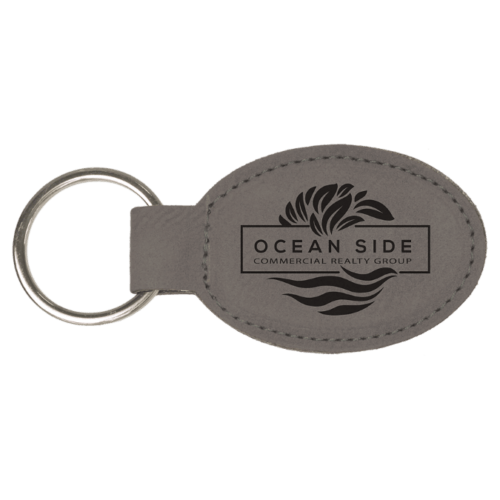 Personalized Oval Keychain - 15 Colors 4