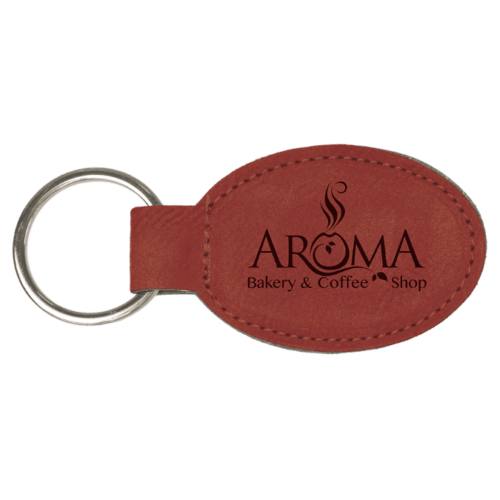 Personalized Oval Keychain - 15 Colors 6