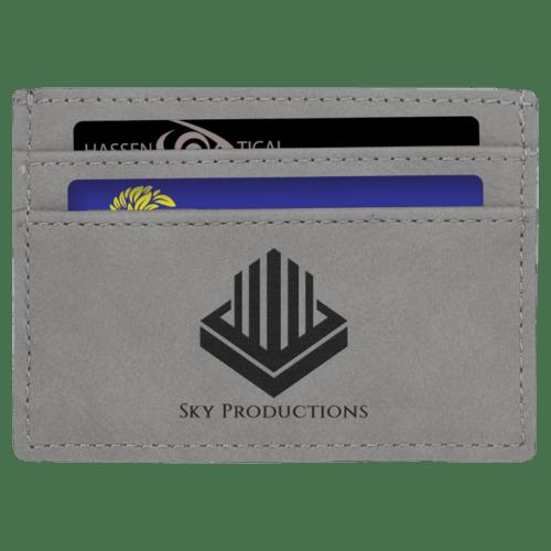 Leatherette Wallet/Money Clip - 7 Colors 6