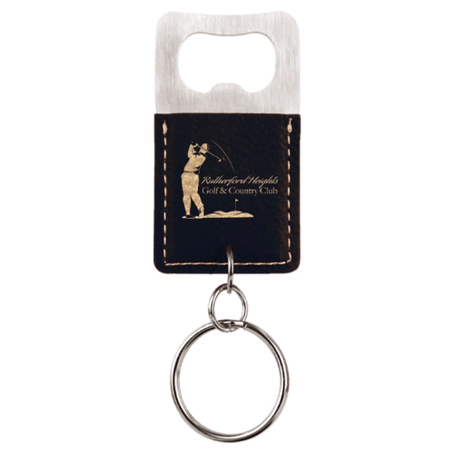 Rectangle Bottle Opener Keychain