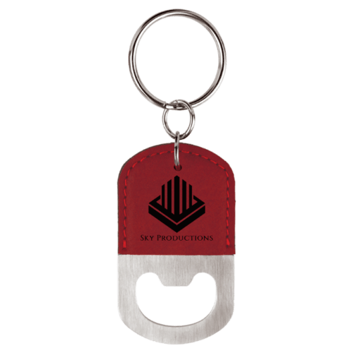Oval Bottle Opener Keychain