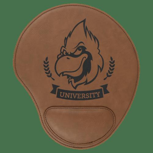 Leatherette Mouse Pad - 12 Colors 3