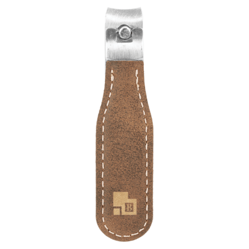 Leatherette Nail Clipper - 9 Colors 9