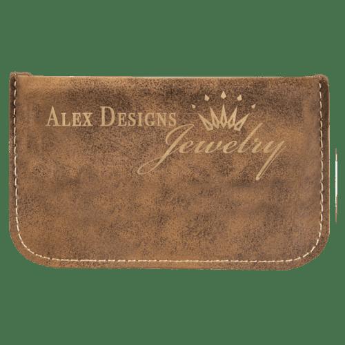 Leatherette Flexible Card Case - 6 Colors 6