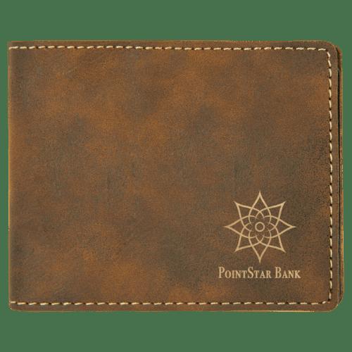 Leatherette Bifold Wallet - 7 Colors 7