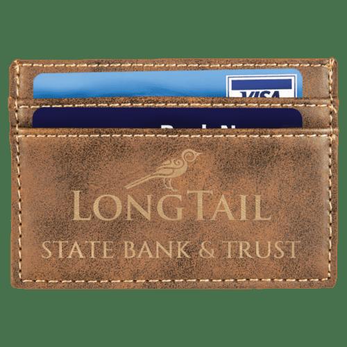 Leatherette Wallet/Money Clip - 7 Colors 1