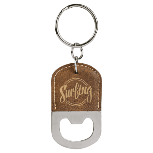 Oval Bottle Opener Keychain - 11 Colors 1