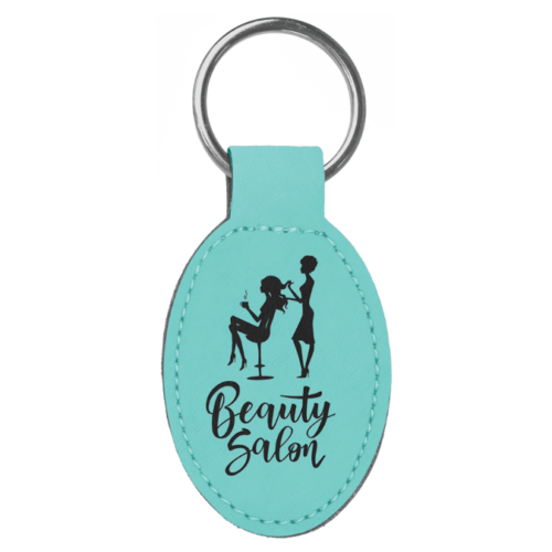 Personalized Oval Keychain - 15 Colors 11