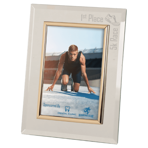 "Glass Photo Frame (5"" x 7"")"