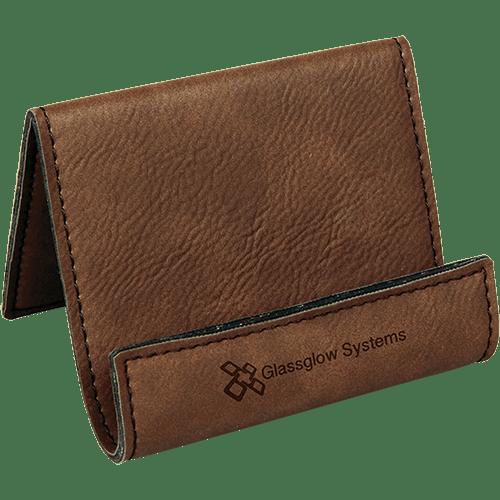 Leatherette Holder/Easel - 10 Colors 5