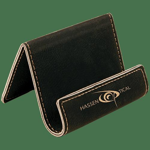 Leatherette Holder/Easel - 10 Colors 3