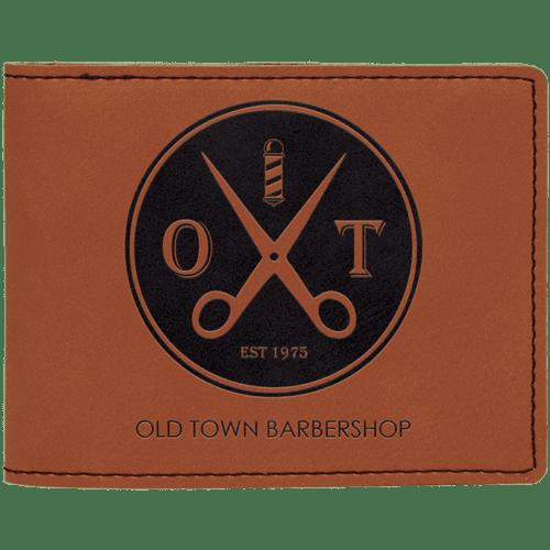 Leatherette Bifold Wallet - 7 Colors 5