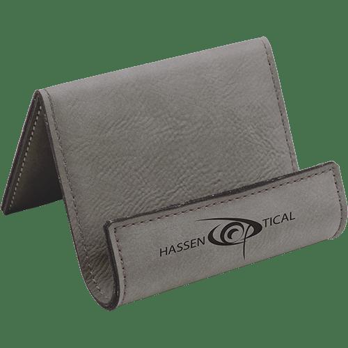 Leatherette Holder/Easel - 10 Colors 7