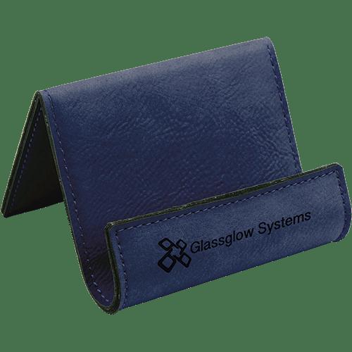 Leatherette Holder/Easel - 10 Colors 8