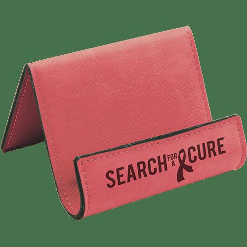 Leatherette Holder/Easel - 10 Colors 1
